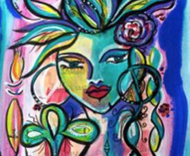 Schilder je muze inloophuis de blauwe anemoon gorinchem for Schilder inhuren per uur